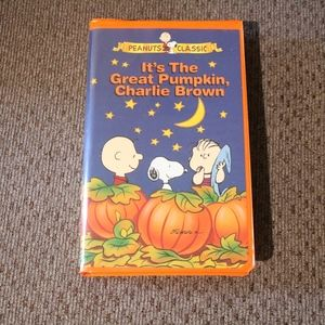 It's the Great Pumpkin Charlie Brown VHS